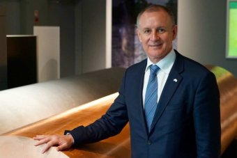 Jay Weatherill poses for a portrait.
