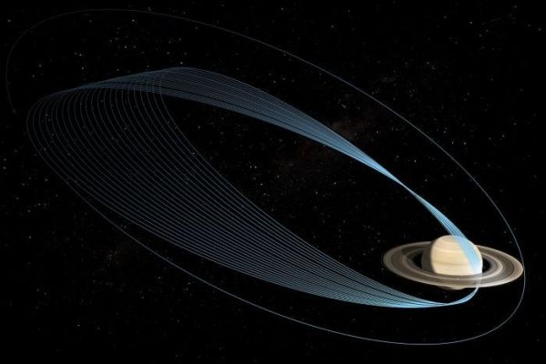 Cassini to explore rings of Saturn as it heads towards