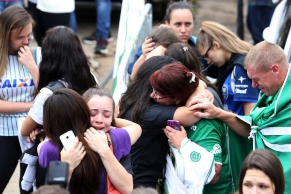 Colombia plane crash: Brazil mourns as most of Chapecoense ...