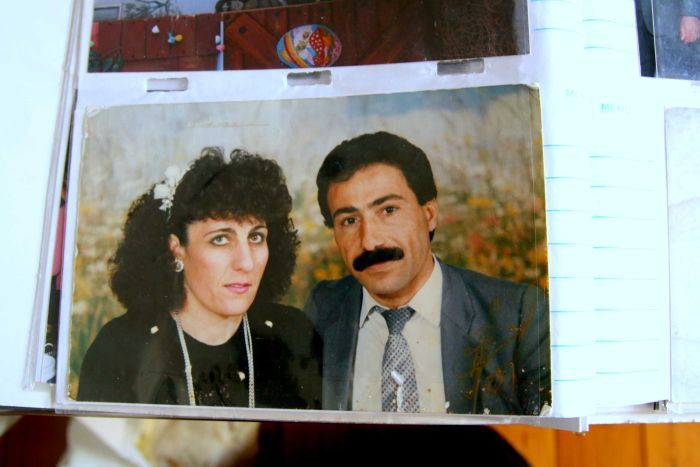 Photo of Aida Kefarkes and Anyoun Abdal when they were younger