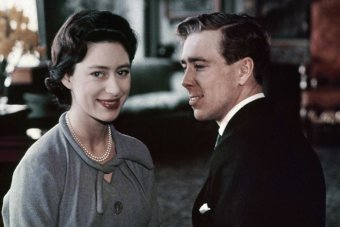 Princess Margaret after the announcement of her engagement to Anthony Armstrong Jones, later known as Lord Snowdon.