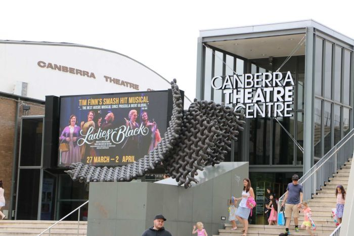 External of Canberra Theatre Building