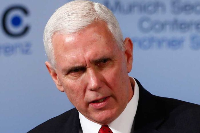 Image result for VP pence MUNICH CONFERENCE