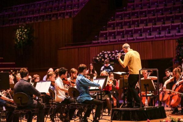Students from NSW high schools rehearse with one of the world's leading chamber orchestras.