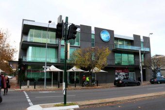 Channel 10 building in Adelaide
