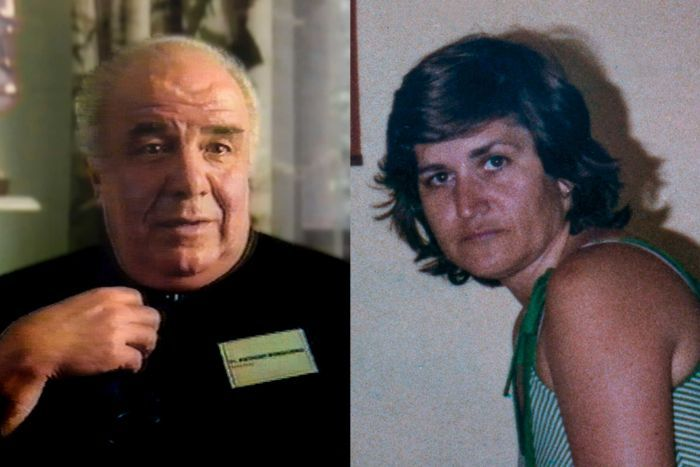 Bongiorno (left) abused the teenage son of Maria James.