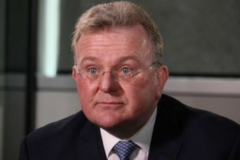 Bruce Billson talks to 7.30