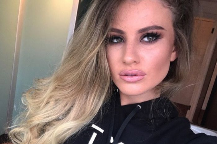 A photo of kidnapped UK model Chloe Ayling posted on her Instagram account on May 19 2017.