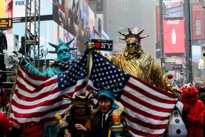 Times Square to shiver through new year celebrations