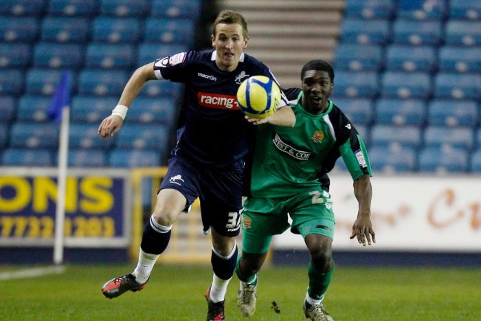 Harry Kane playing for Millwall