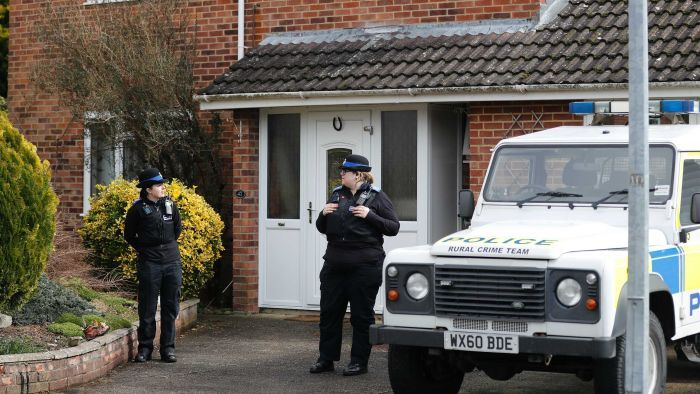 UK police says Sergei Skripal and his daughter were likely poisoned at the font door of their home (Photo: AP/Frank Augstein)