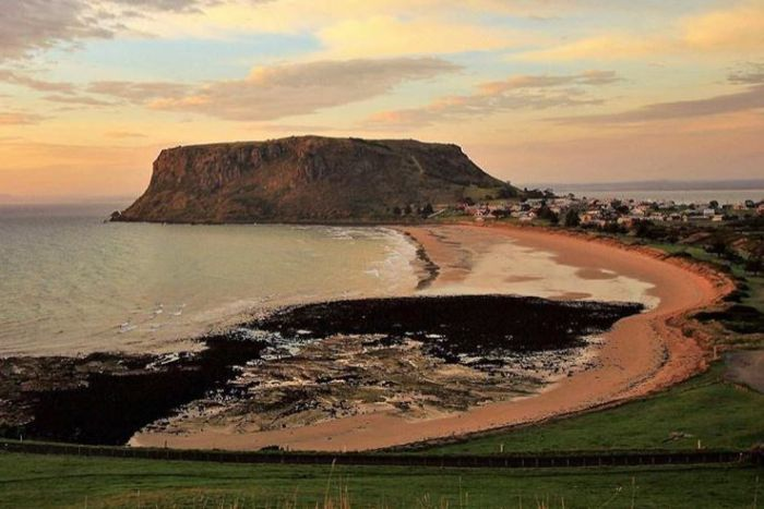 Picturesque Stanley in NW Tasmania.