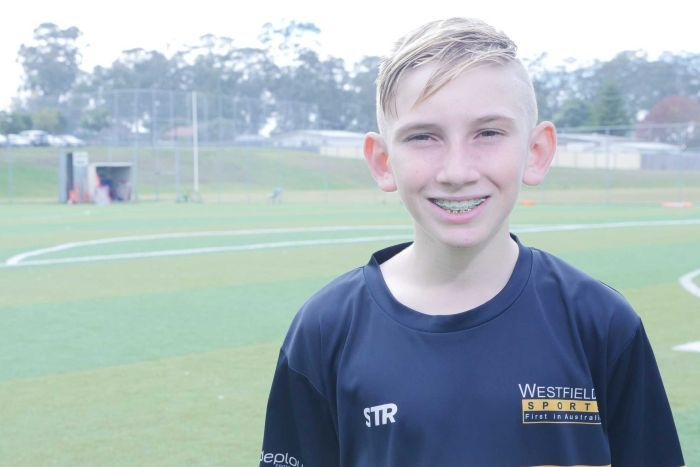 Jaiden Cakovski has dreams to go on and represent Australia at the World Cup finals