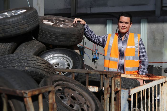 Tyre recycling issue