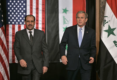 iraqi and u.s. presidents