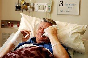 Asbestos sufferer Bernie Banton