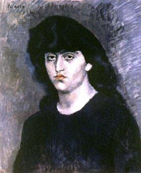 Stolen: Pablo Picasso's Portrait of Suzanne Bloch.