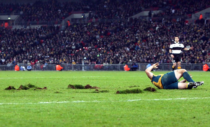 I know its rugby but its Wembley rugby
