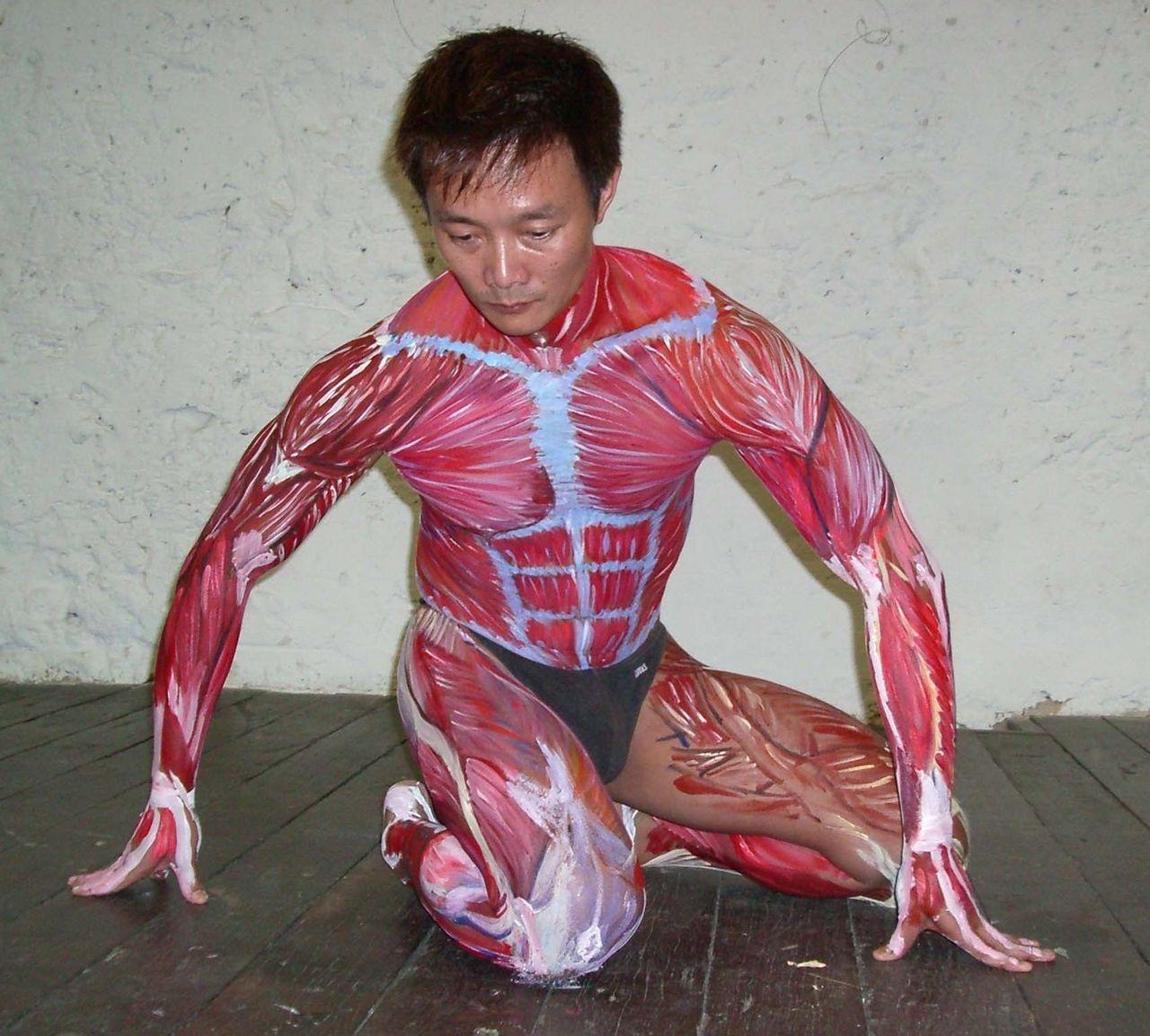 Body Painting, Art