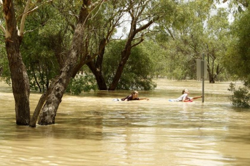 Qld councils hit twice by flooding. Posted January 7, 2010 07:53:00