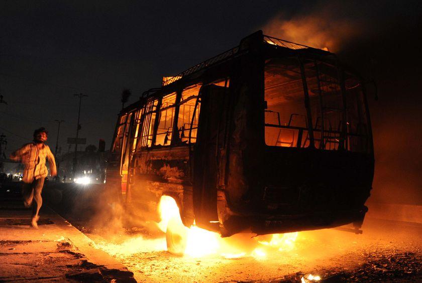 Violence in Karachi=