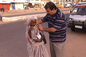 Krishnan Narayanan offers a meal and a hug.