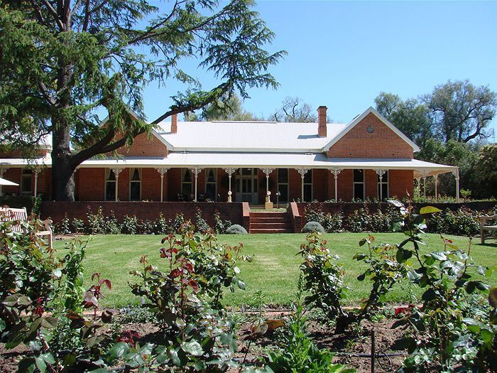 This is the Home of the Wanganella merino, Boonoke Station homestead, in the southern Riverina