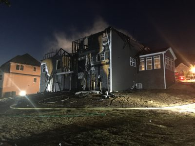 Ravenwood Road house fire_343858