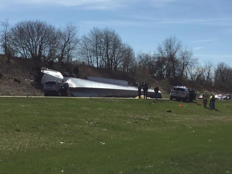 UPDATE: I-81 in East Hanover Township back open after deadly