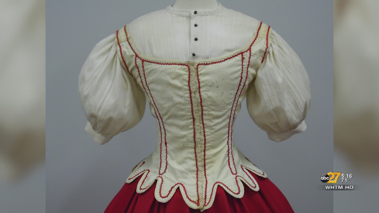 Shippensburg experts to restore dress from Ford's Theater actress