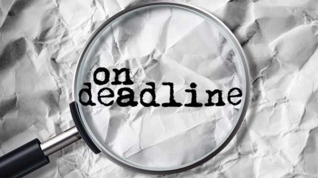 on deadline_660355