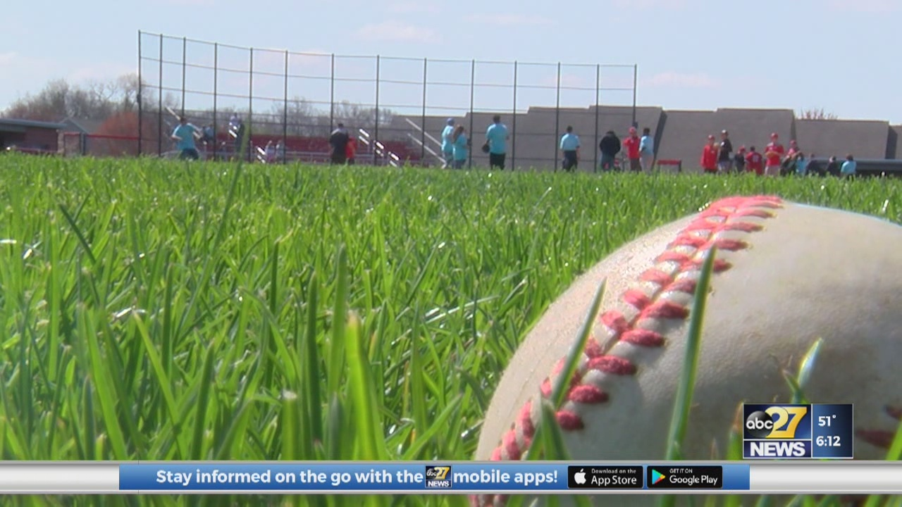 Baseball Camp for special needs students
