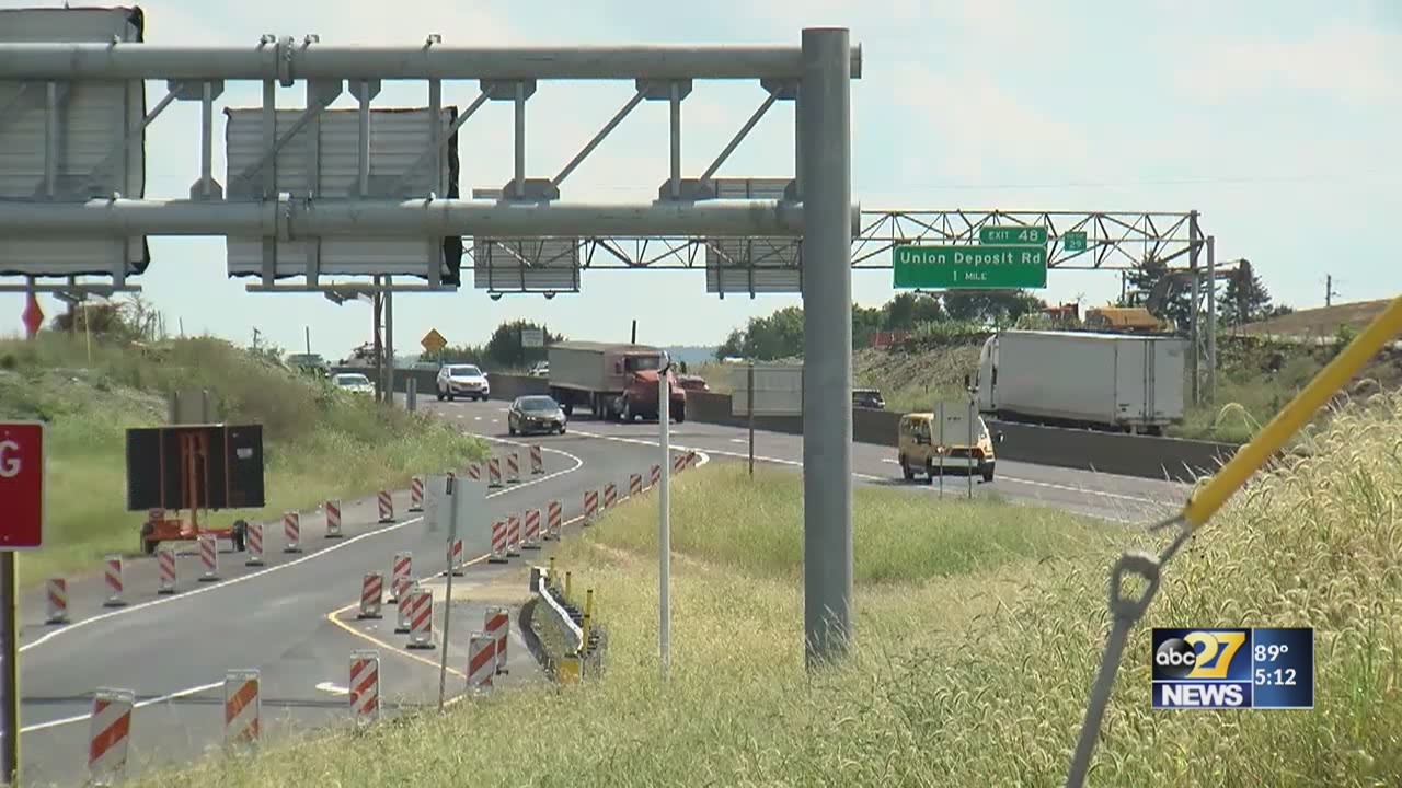 Prep work begins on I-83 widening project