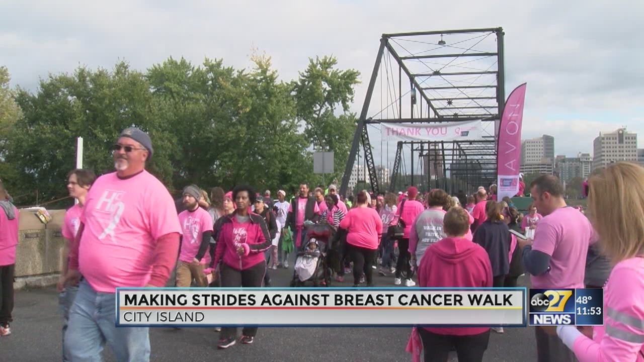Making Strides Against Breast Cancer Walk 2018