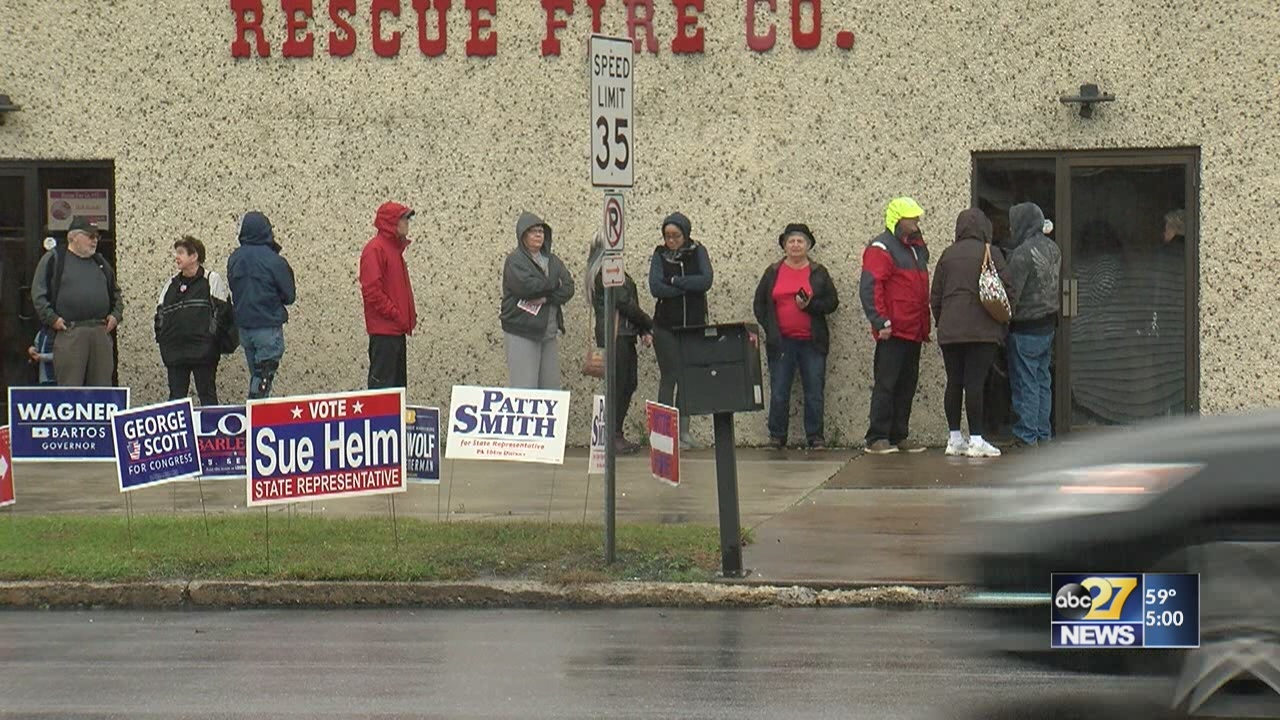 Dauphin County turnout higher then other midterm elections