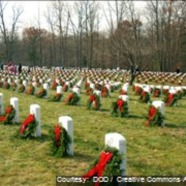 Wreaths at Indiantown Gap National Cemetery_244585