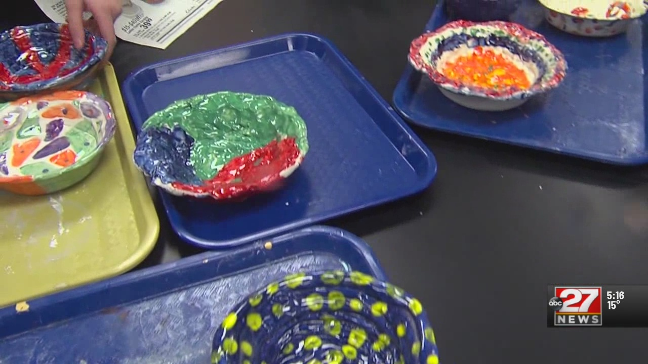 Something Good: Kids create bowls to put food on tables