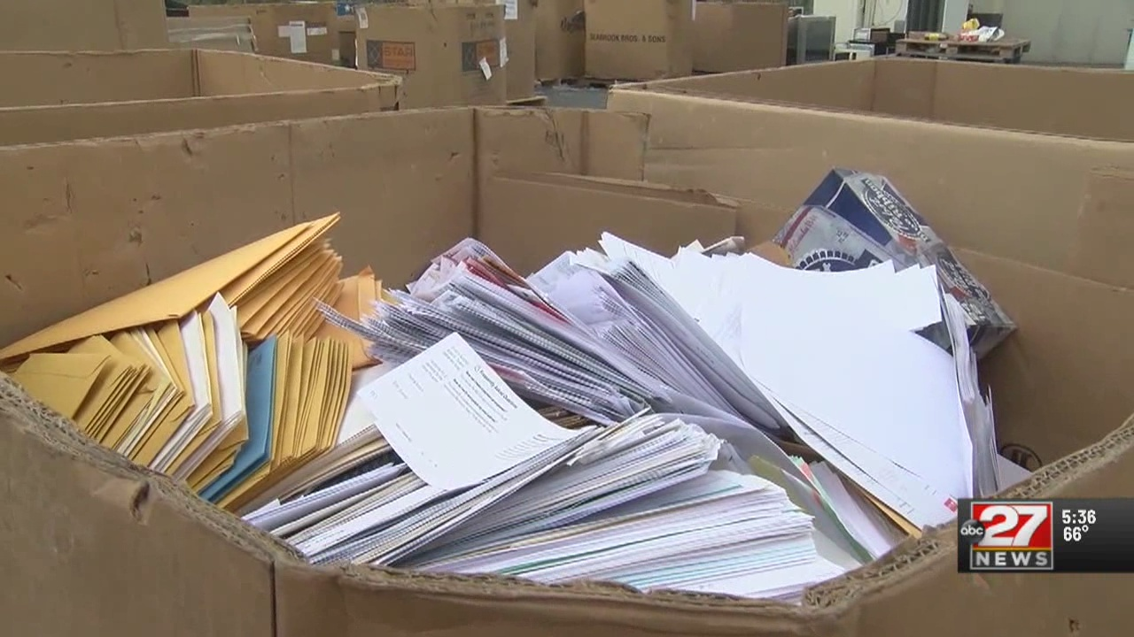 Paper shredding event held for Earth Day