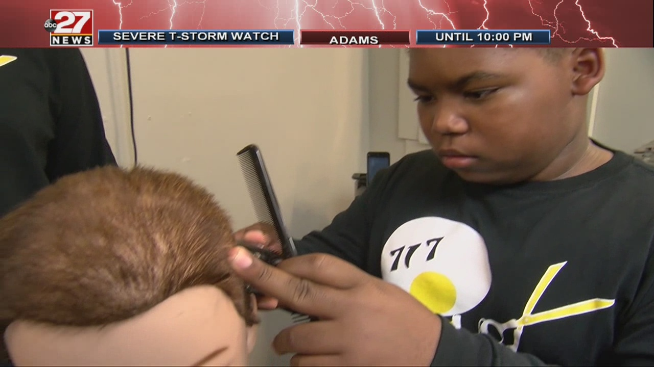 Midstate barber school helping shape young lives