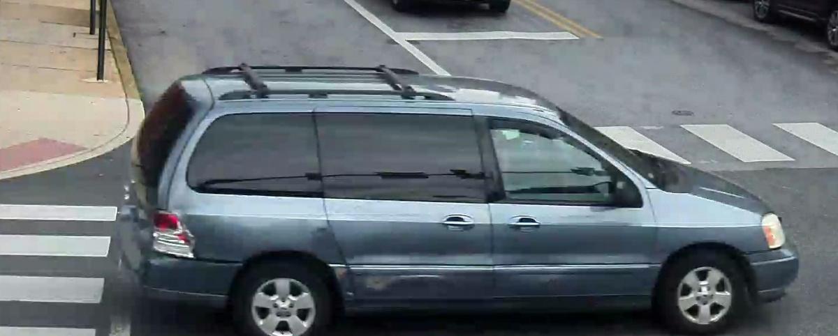 Suspected Hit and Run Minivan