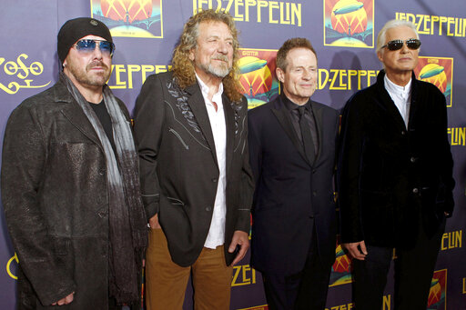 John Paul Jones, Robert Plant, Jimmy Page, Jason Bonham