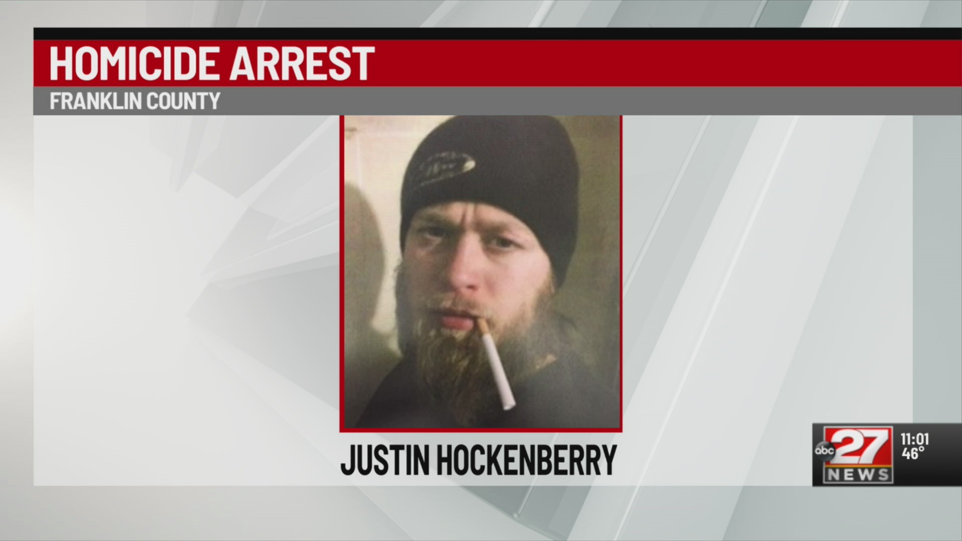 Hockenberry arrested