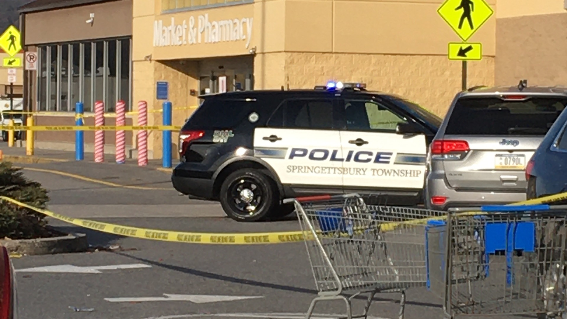 Walmart evacuated for police investigation   ABC27