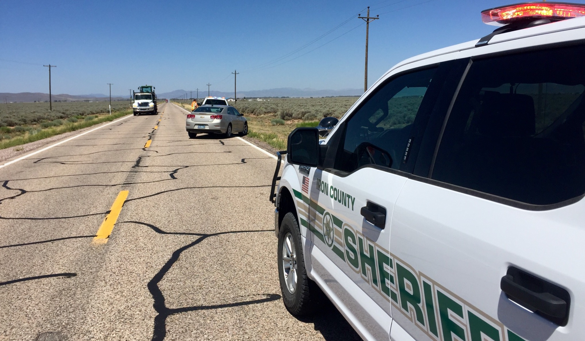 Iron County High Speed Chase