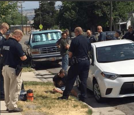 suspect captured