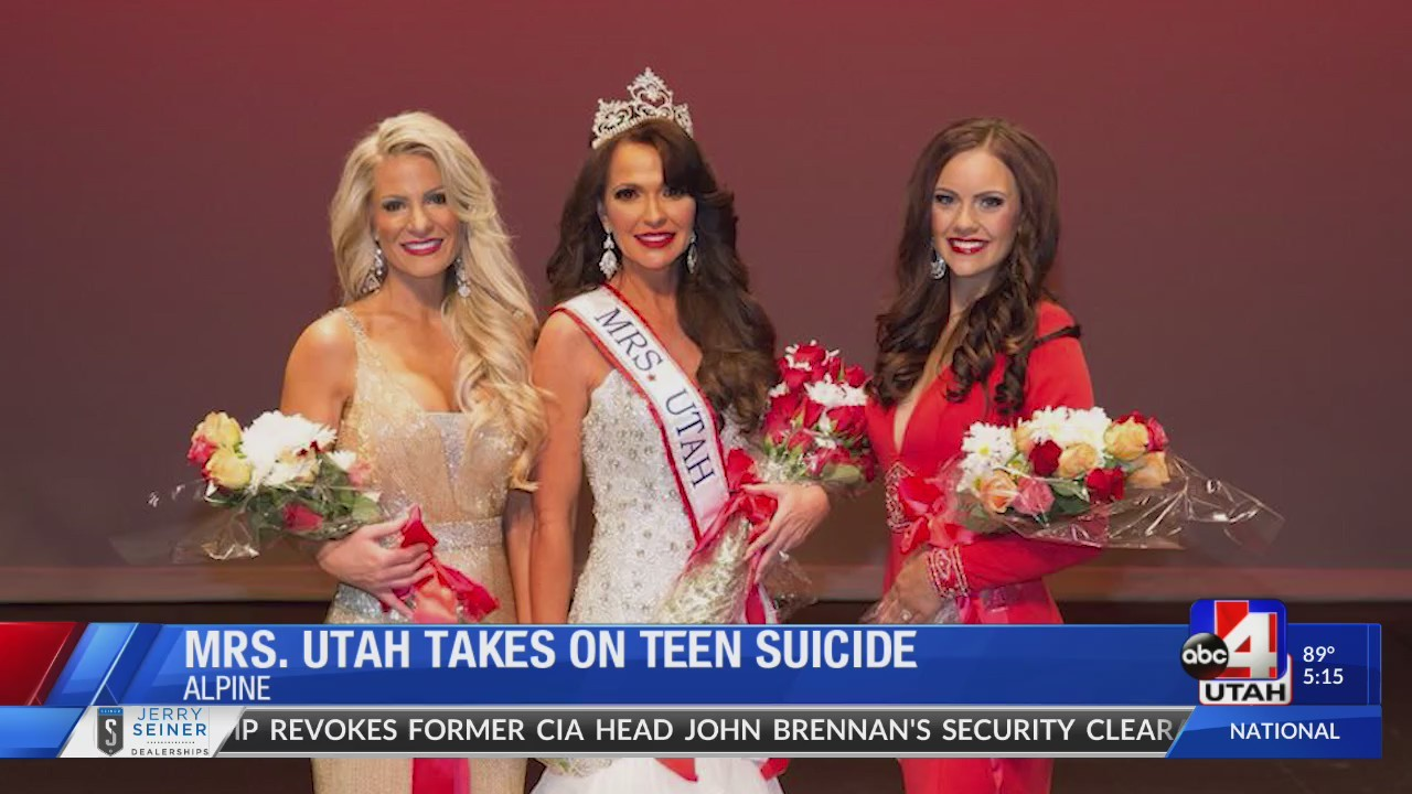 Mrs. Utah Takes On Teen Suicide
