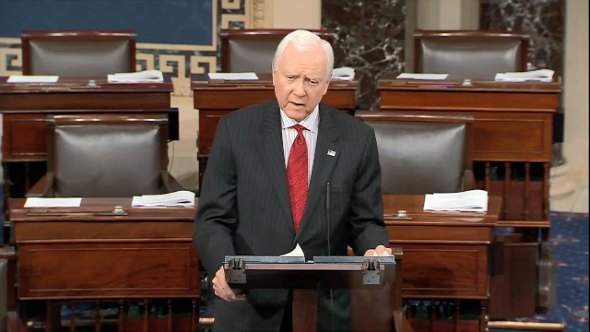 Senator Hatch Farewell Speech