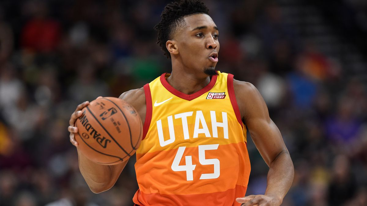promo code 59a84 ffb9e Donovan Mitchell to play in Rising Stars Challenge during ...