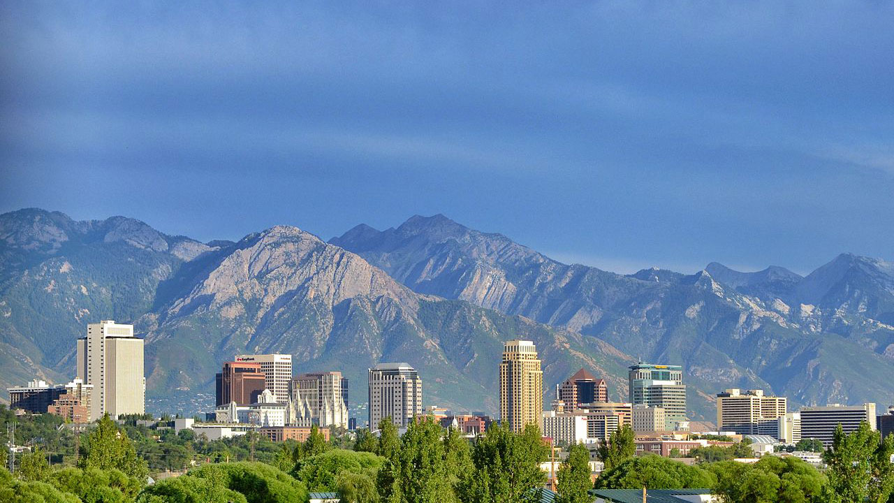 Salt Lake City Utah >> Salt Lake City Rated As The 64th Happiest Place To Live In