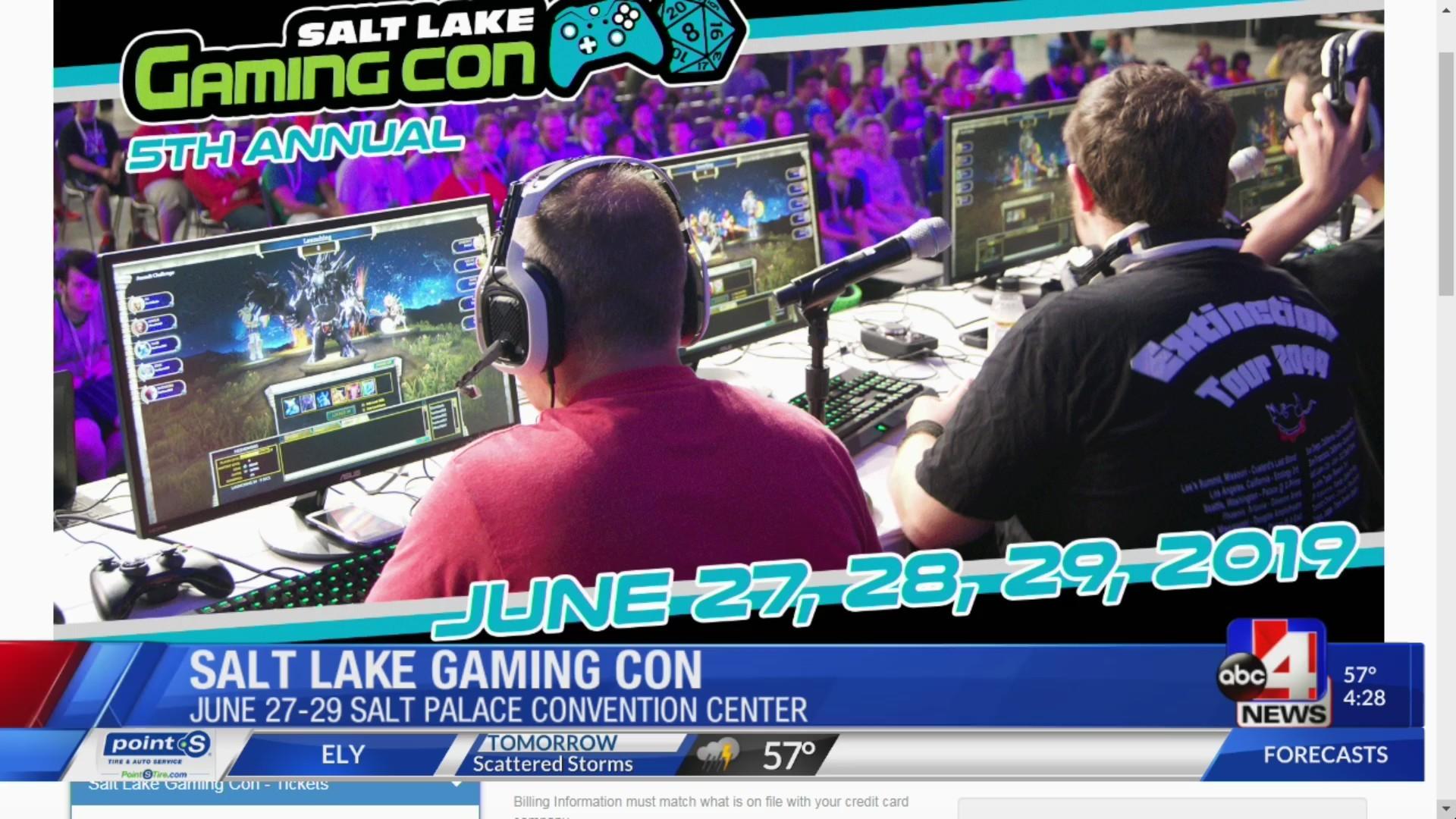 Life-size Mario Kart, Nerf wars and Esports at Salt Lake Gaming Con